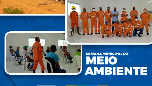 CONFIRA O QUE ROLOU NA SEMANA MUNICIPAL DE MEIO AMBIENTE DE ARAGUANÃ